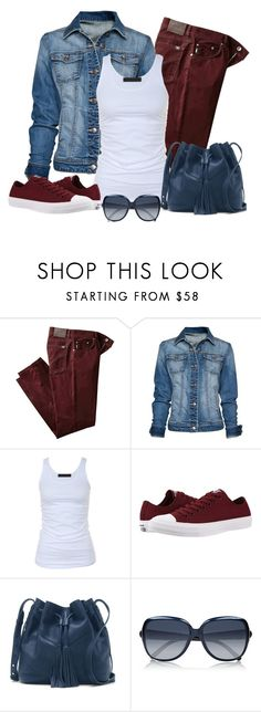 """""""Casual wear"""" by gallant81 ❤ liked on Polyvore featuring BRAX, MANGO, Tusnelda Bloch, Converse, Vince Camuto and Chloé"""