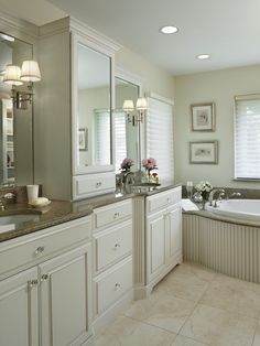 Traditional Bathroom Cabinets Design, Pictures, Remodel, Decor and Ideas - page 78