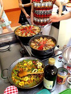 スペイン料理教室にて。 - 28件のもぐもぐ - パエリア by millefille