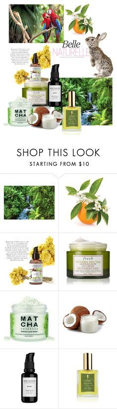 """""""Natural beauty"""" by dashiell32309 on Polyvore featuring beauty, Fresh, Root Science, RAHUA and minimalistbeauty"""