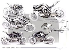 Motorcycle racer project by Maarten Timmer Bike Sketch, Car Sketch, Motorcycle Racers, Motorcycle Art, Er6n, Motorbike Design, Offroader, Concept Motorcycles, Concept Photography