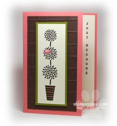 Making a Vertical Greeting Card
