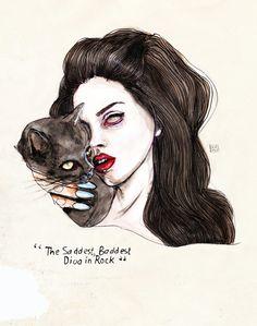 — cute-as-heaven: Lana Del Rey by Lucas David