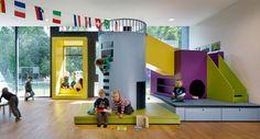 Kita Troplo-Kids der Beiersdorf AG, Hamburg-Eimsbüttel, 2014, kadawittfeldarchitektur, Aachen, Foto, Innenraum