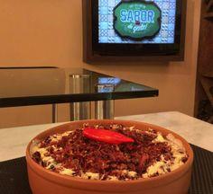 Imagem do Nhoque de macaxeira e creme de queijo com charque (Foto: Produção do Sabor da Gente)