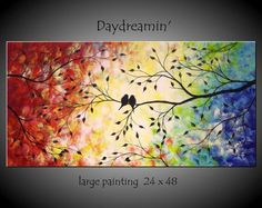 Image result for love birds canvas wall art