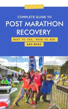 Complete guide to post race recovery for marathons, half marathons and all running