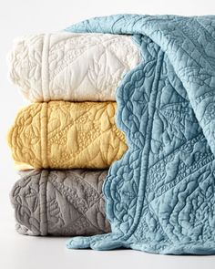 Shop Queen Zella Quilt from Amity Home at Horchow, where you'll find new lower shipping on hundreds of home furnishings and gifts. Toile Bedding, Bedding Sets, Amity Home, Floral Pillows, Queen Quilt, Home Bedroom, Bedrooms, Home Collections, Bedding Collections