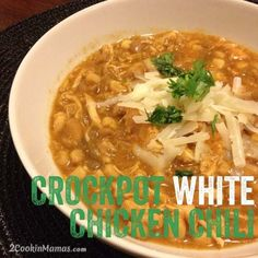 Crockpot White Chicken Chili Created by an awesome girl and a fellow lover of DDP yoga!