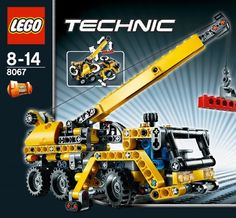 Amazon.com: LEGO: TECHNIC: Mini-Mobile Crane: Toys & Games