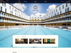 Piscine Molitor, Paris' legendary pool complex (inaugurated in 1929 by Johnny Weissmuller, bikini debuted there in 1946), reborn in 2014 after $100M renovation as a glamorous hotel & summertime hot spot