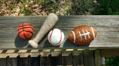 ab4a0475594 Felted sports set felted football felted baseball felted Newborn Photo  Props