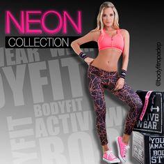 #NeonCollectionBodyFit disponible en nuestras tiendas y on-line #EjercitaTuEstilo