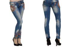 Посадка slim fit - джинсы по фигуре, зауженные штанины. Штанины заужены к  низу, с замочками снизу по бокам брючин. Длина по щиколотку. feee2f550d3