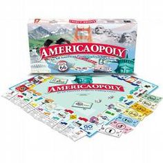 Awesome game of Monopoly but full of American trivia and information! Great for history buffs! AND MADE IN USA!