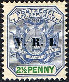 Transvaal 1900 SG 229 Coat of Arms with V R I Overprint Fine Mint SG 229 Scott 205 Condition Fine LMM Only one post charge applied on multipule