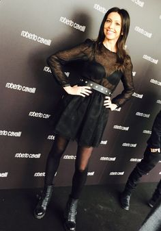 Red carpet - MilanoFashionWeek #lorenabaricalla #LB wearing Sveta Sotnikova