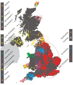 British Isles mapped out by genetic ancestry : Nature News & Comment