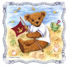 Valerie Greeley - GOG243 sailor bear flag.jpg