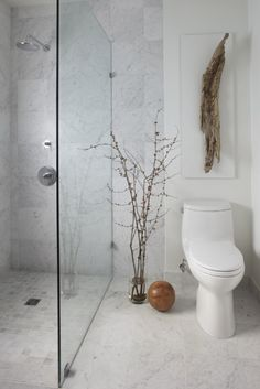 Clean white and beautiful small bathroom