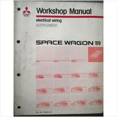 Mitsubishi colt lancer electrical wiring manual 1989 phme8801 on mitsubishi space wagon electrical wiring supplement phde8612 2 on ebid united kingdom sciox Image collections