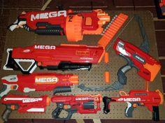 Awesome Nerf Mega Bundle on Mercari Arma Nerf, Cool Nerf Guns, Nerf Toys, Beretta 92, Dinosaur Drawing, Battle Royale Game, Power Rangers, Baby Kids, Water Guns