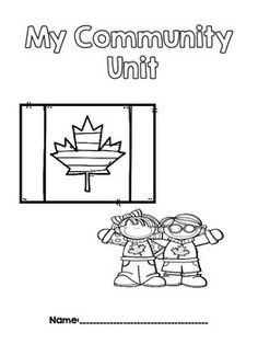 Local Community & Community Helpers: Grade 1 Ontario