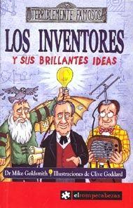 Probablemente has oído hablar de estos inventores...  • Thomas Edison y la bombilla • George Stephenson y la locomotora • John Logie Baird y la televisión.  Los inventores esconden aún muchas sorpresas, y los diez que aparecen en este libro son personajes fascinantes. ¡Descúbrelos!