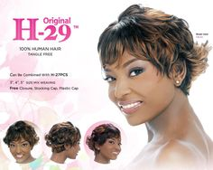 Harlem 125 Human Hair 29 Pcs Weaving Hair (1B (Off Black)) -- This is an Amazon Affiliate link. You can get additional details at the image link.