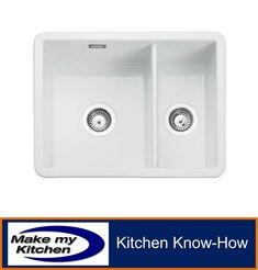 Rangemaster Rustique 1.5 Bowl Ceramic Undermount Sink CRUB3216 - NEXT DAY DEL · $246.99 Ceramic Undermount Sink, Stone Road, Ceramic Bowls, Retail Packaging, Kitchen Sink, White Ceramics, Conditioner, How To Apply, 10 Years