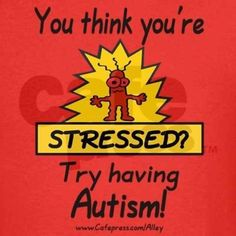 You think your stressed?