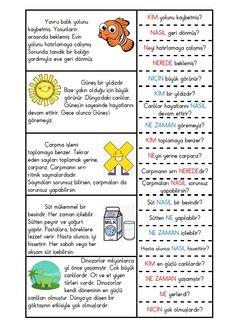 Learn Turkish Language, Speech And Language, Primary School, Grade 1, Preschool Activities, Montessori, 3 D, Coaching, Homeschool