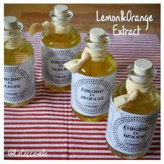 #limone, #arancia, #lemon, #orange, #giftidea, #extract, #estratto,# vodka, #zest