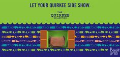 It's our new uber cool collection titled 'Quirkee' is out to turn your world around!  http://www.baggit.com/