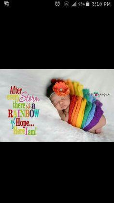 Baby girl newborn photoshoot rainbows rainbow baby cute picture ideas cute newborn photo shoot an idea pretty red orange yellow green blue purple Baby Wrap newborn session flower headband https://m.facebook.com/I-Love-Unique-Photography-1505109513066387/