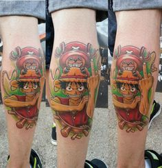 tatouage luffy by siempre tattoo