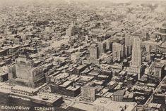 downtown toronto, 1930s