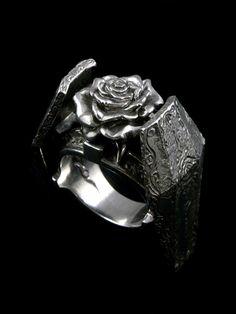 Gimmel Garden,ギメルガーデン,薔薇花葬,リング,アクセサリー写真1