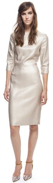 Classic Tailored Dress - Lyst