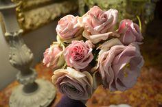 cold porcelain roses handmade and paint https://www.facebook.com/Weddings-Bouquets-Manuela-Hourcastagnou-452798688118522/