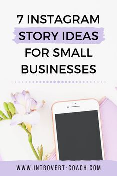 Struggling with what to post on Instagram Stories? Get 7 ideas that will work well for small businesses and getting yourself out there! #socialmedia #instagramtips #instagramstory #socialmediamarketing #smallbiztips Social Media Tips, Social Media Marketing, Digital Marketing, Instagram Story Ideas, Instagram Tips, Creative Business, Business Tips, Online Business, Instagram Marketing Tips