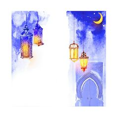 Poster Ramadhan, Beautiful Moon, Abstract, Artwork, Cards, Summary, Work Of Art, Auguste Rodin Artwork, Artworks