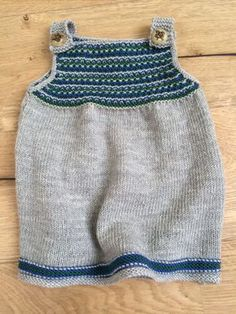 Babykleid stricken