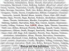 la soluzione è l'Amore