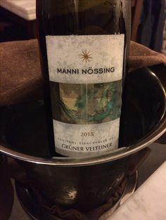Un #Veltliner per chi ama vini verticali, tesi, ma anche complessi e strutturati.  #manninossing #bianco #altoadige