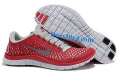 Gym Red Sail Reflect Silver Nike Free 3.0 V4 Men's Running Shoes