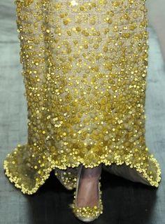 #Valentino #details #fashion #style #gold #dress #glam #luxury