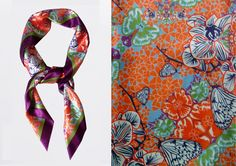 LISAN LY kaleidoscope scarf