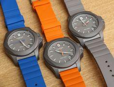Victorinox Swiss Army INOX Titanium Watch (I want one!)