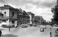 la gare Montparnasse dans les années 1950 (détruite)